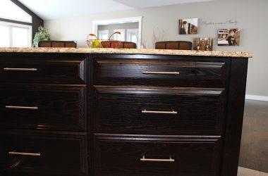 Deep Island drawers
